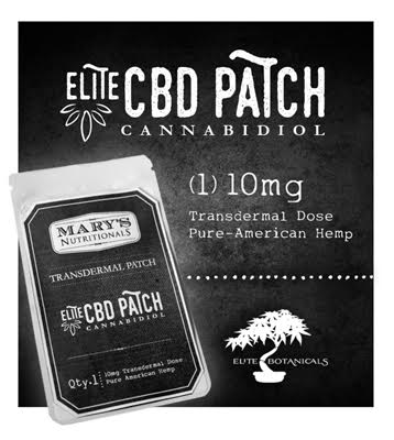 Mary's CBD pain patch